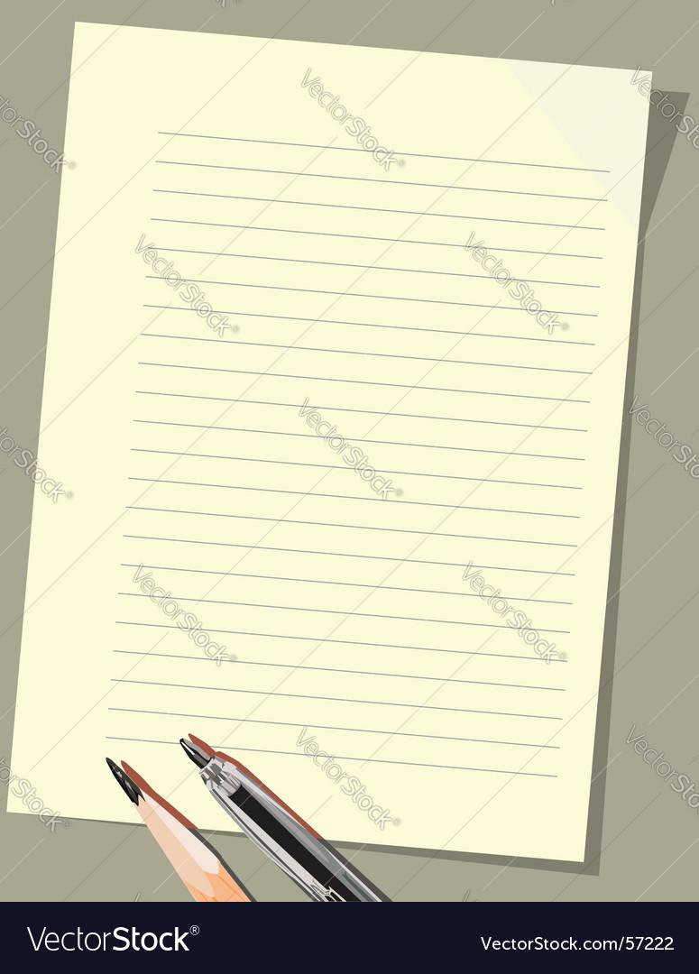 Paper background vector by Nikonov - Image #57222 - VectorStock