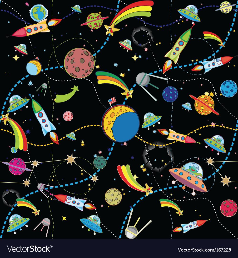 Cosmos wallpaper vector