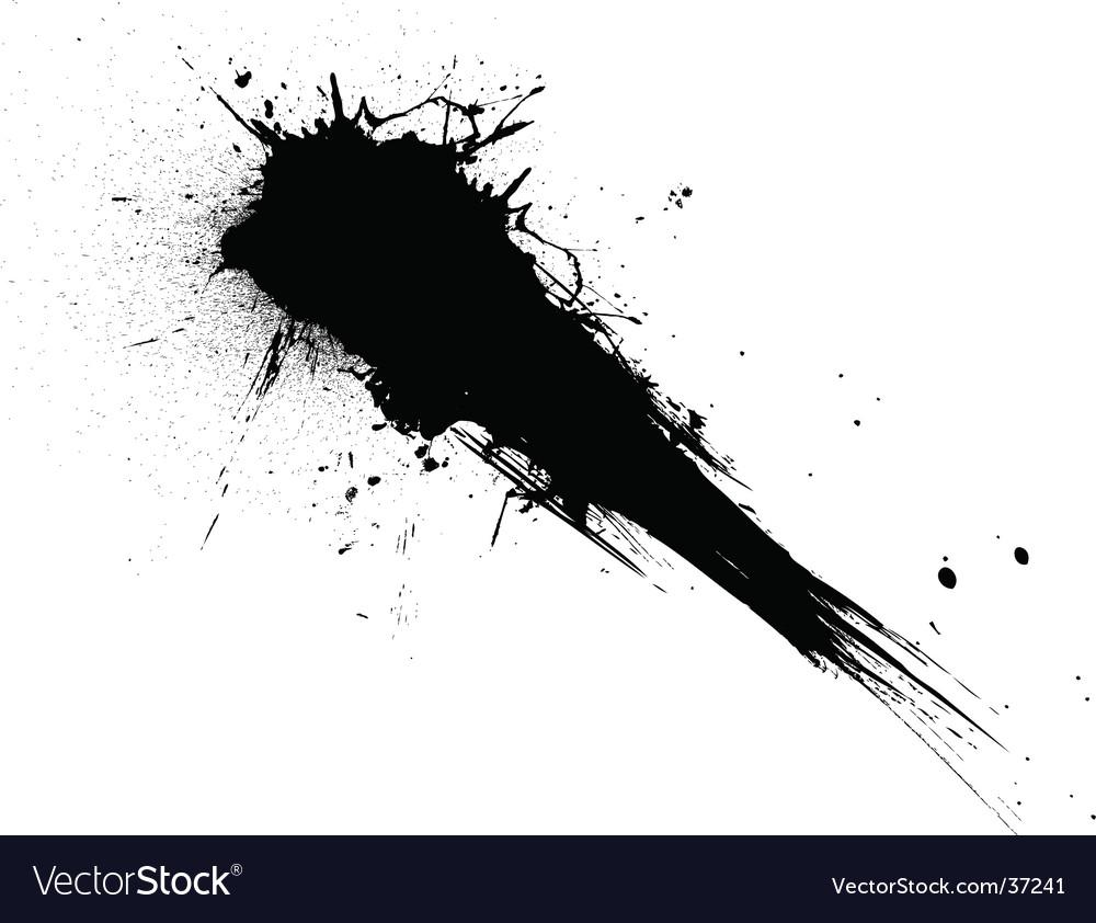 Shooting splat vector