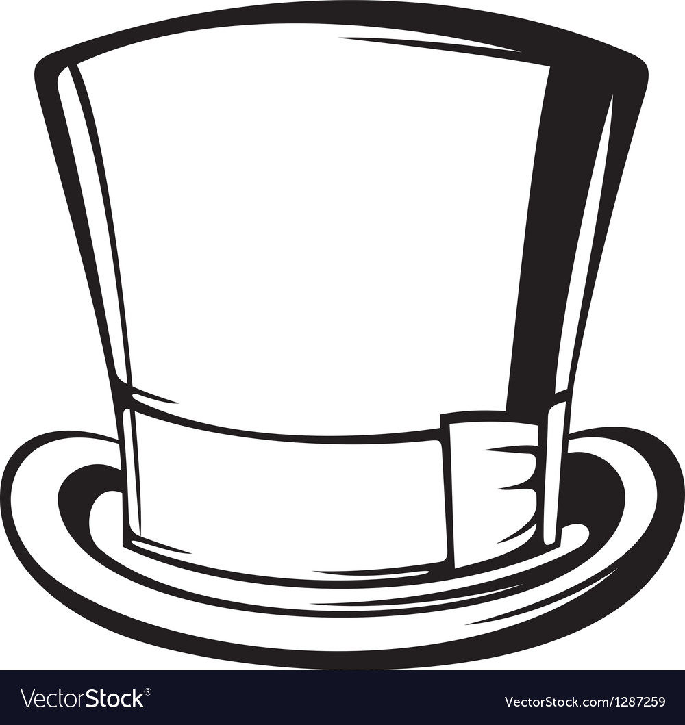 Top Hat Vector 1287259 on christmas snowman