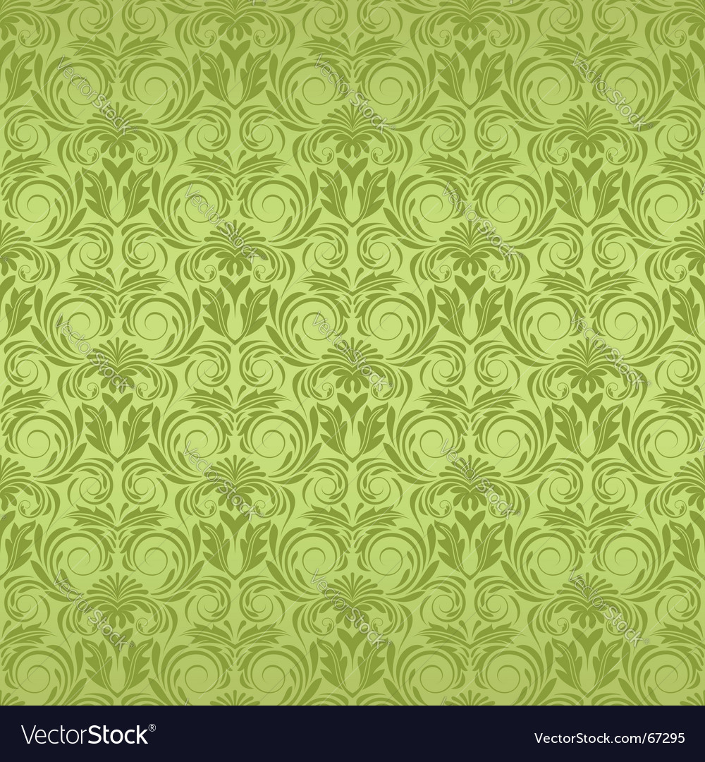 Decorative wallpaper pattern vector