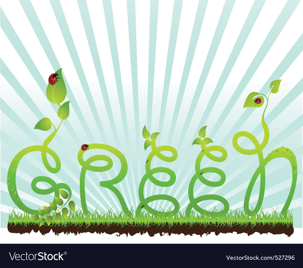 Beautiful nature background vector