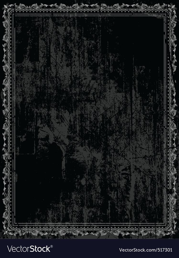 Decorative grunge vector
