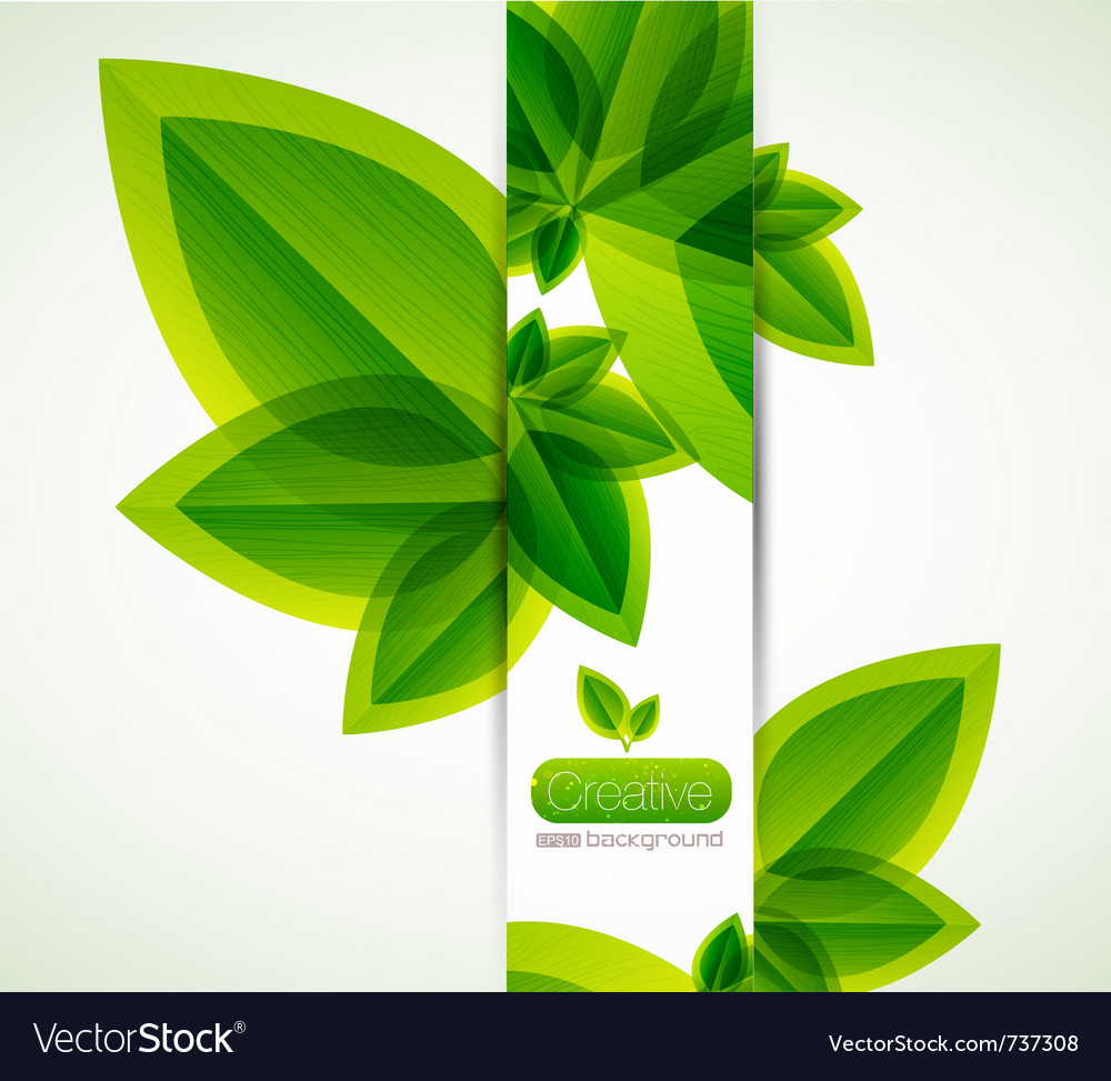 Nature abstract background vector