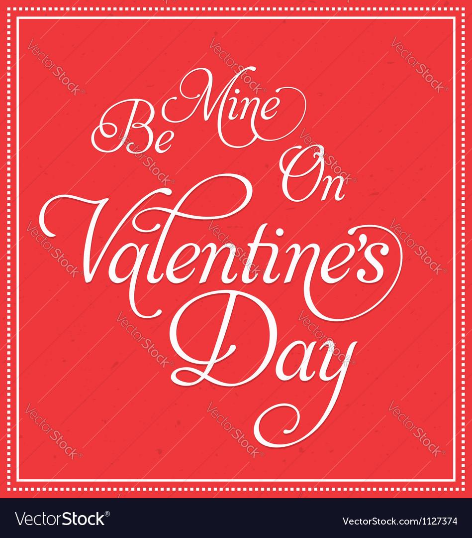 Valentines deisgn vector