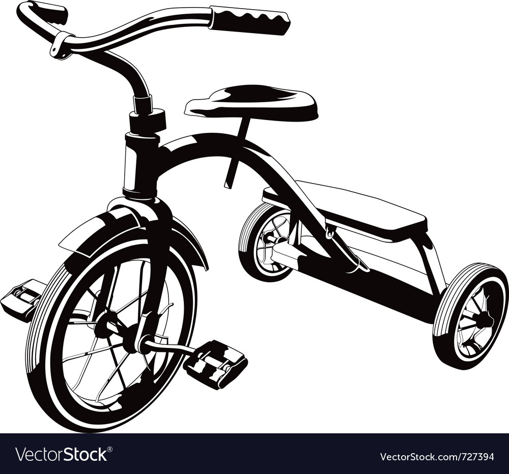 Trycycle vector