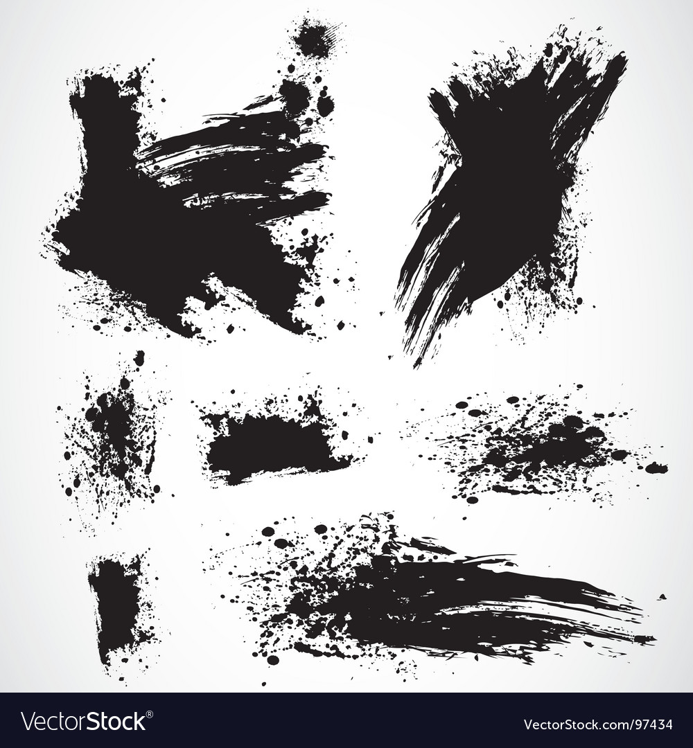 Distressed spray vector