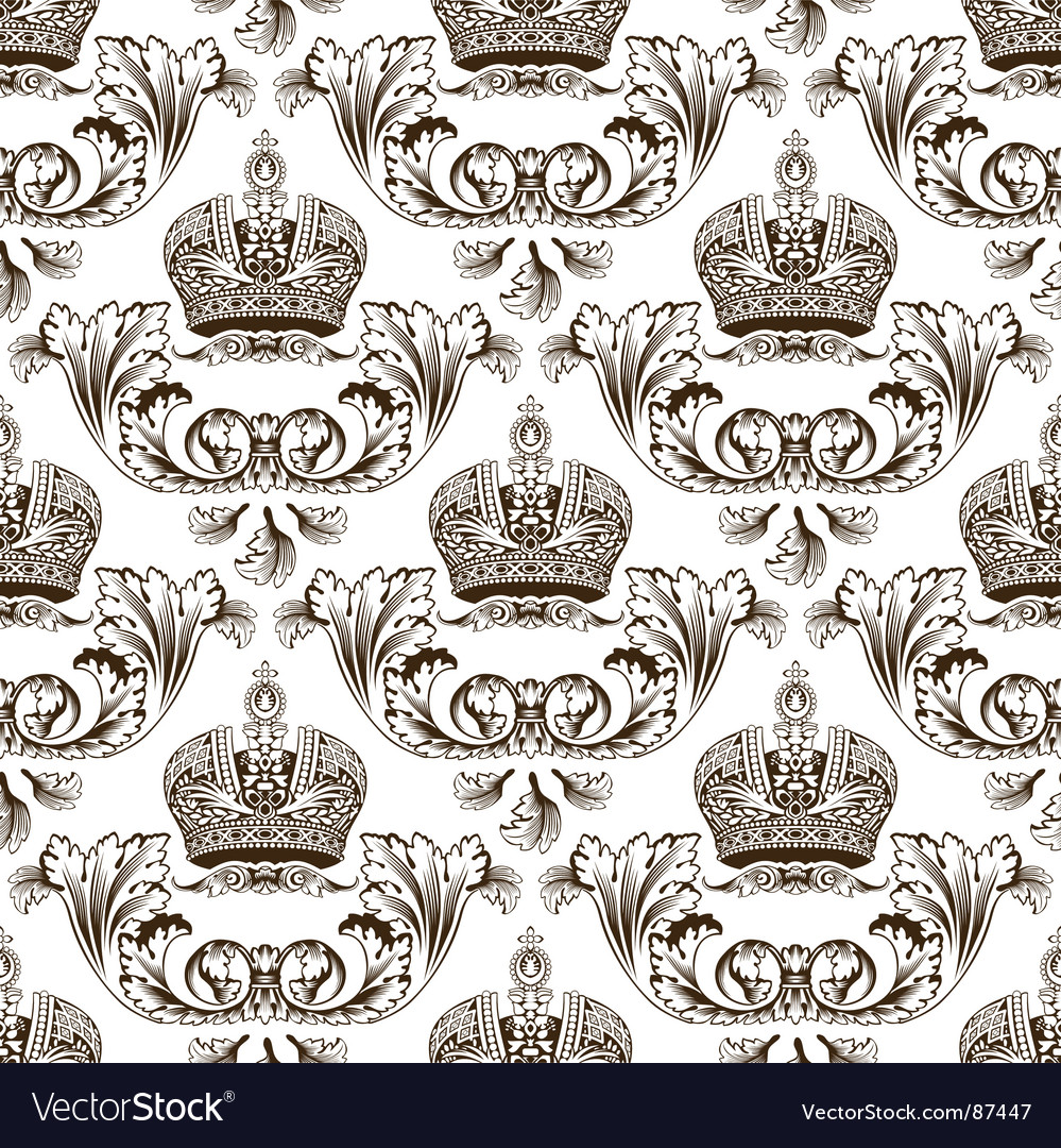 Imperial crown design vector