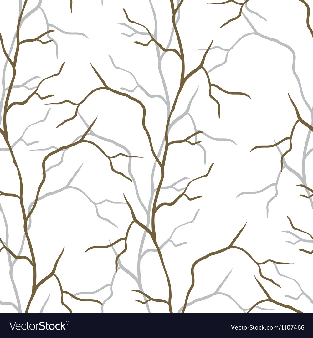 Branches seamless pattern vector