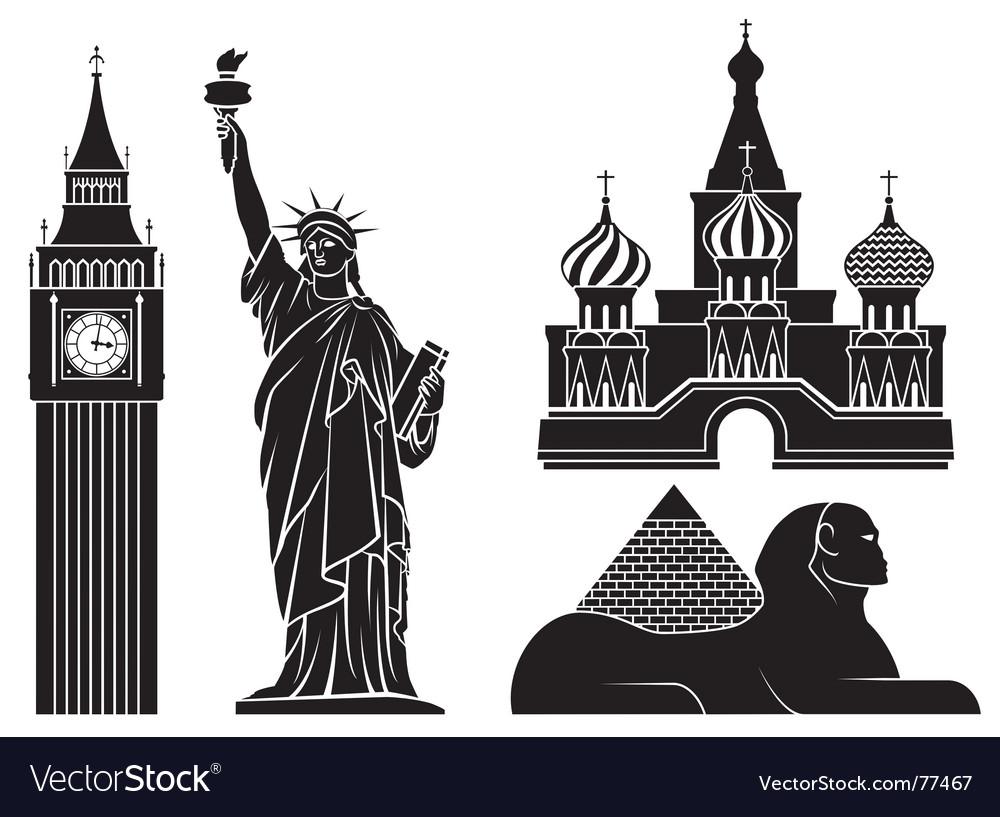 Landmarks vector