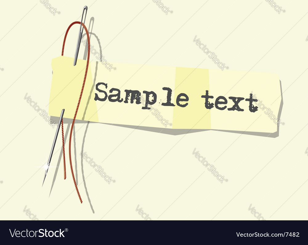 note vector