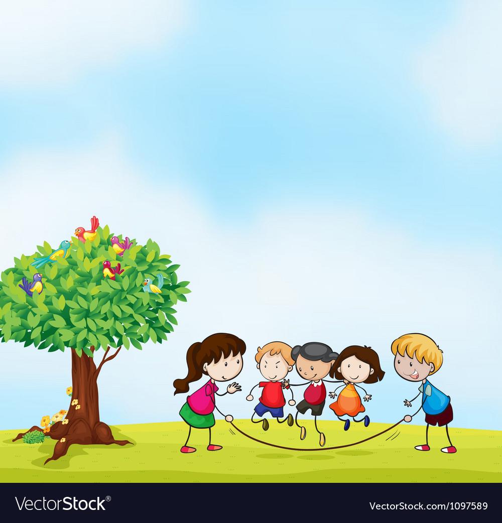 Kids vector