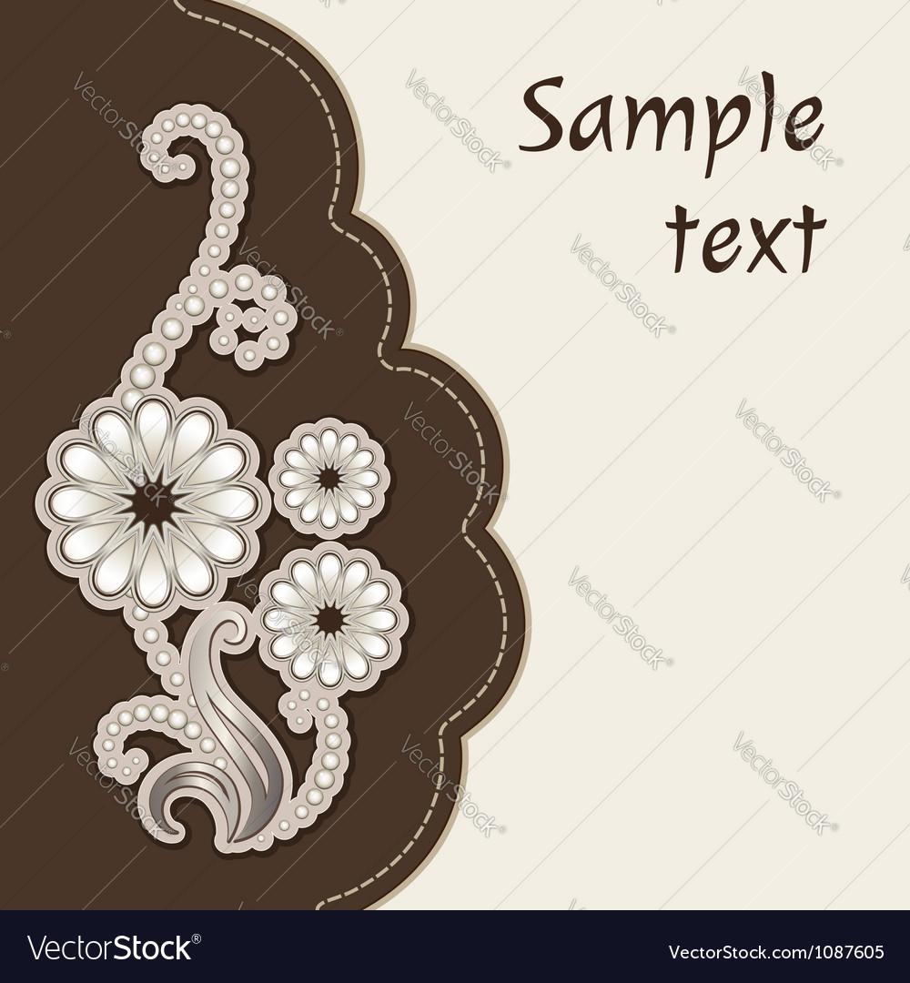 Decorative cover vector