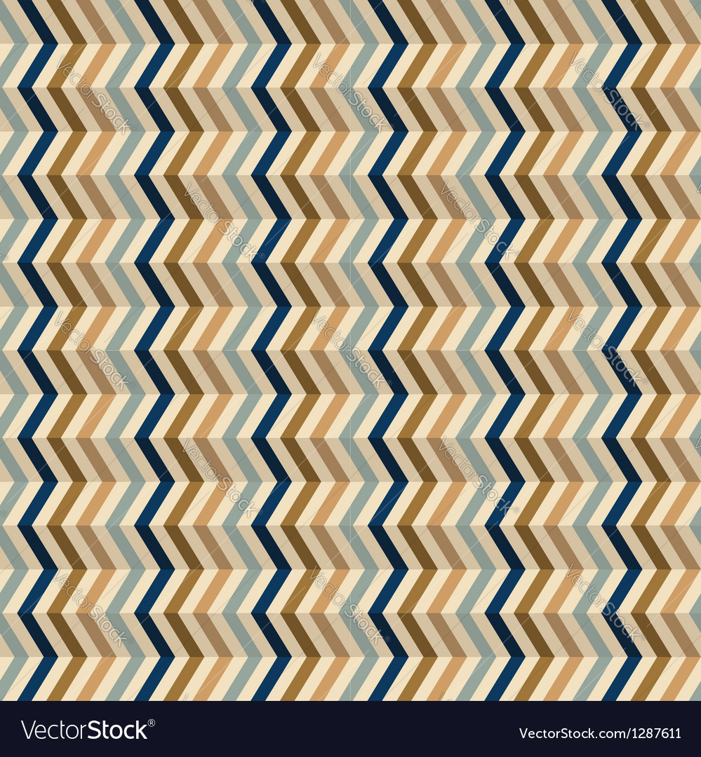 Fashion geometrical pattern with zigzag vector