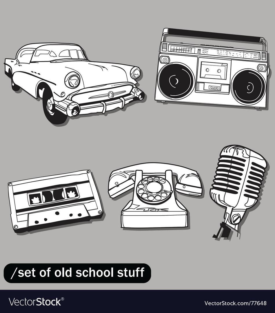 Old school vector