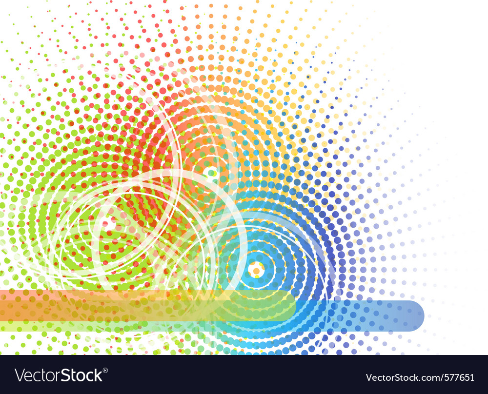 Abstract transparent vector