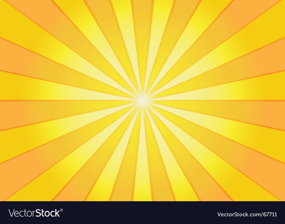 Sunburst background vector