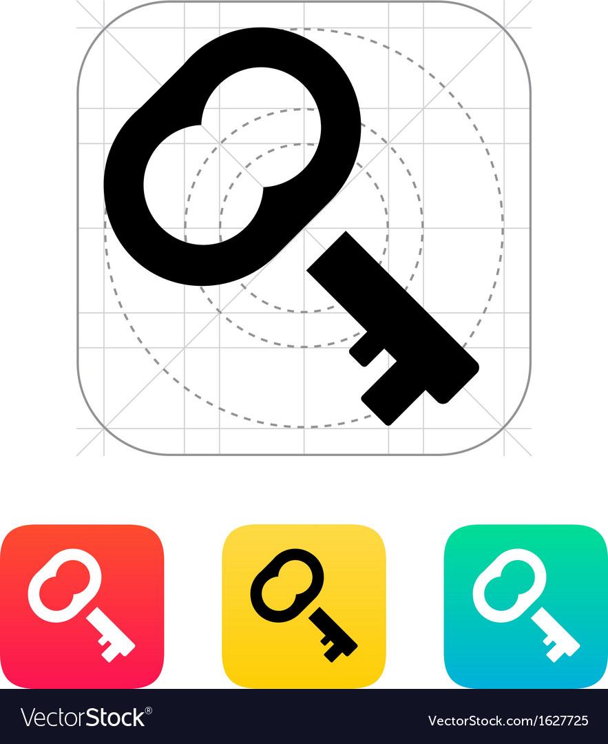 Case key icon vector