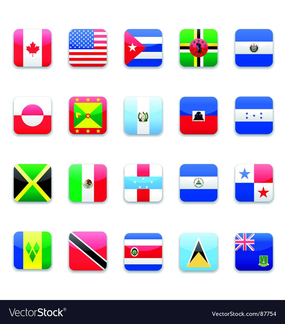America flag vector