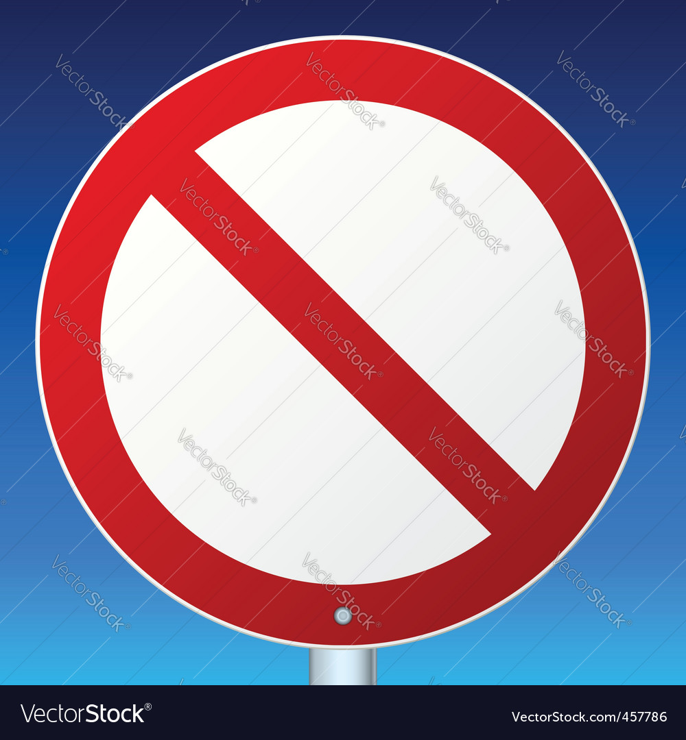 Road sign sky vector