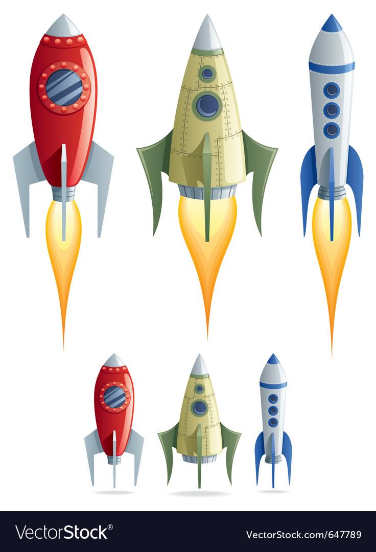 Rockets vector