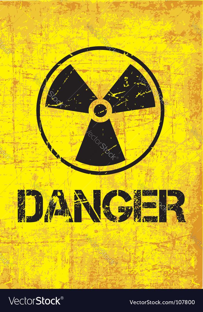 Danger backround vector