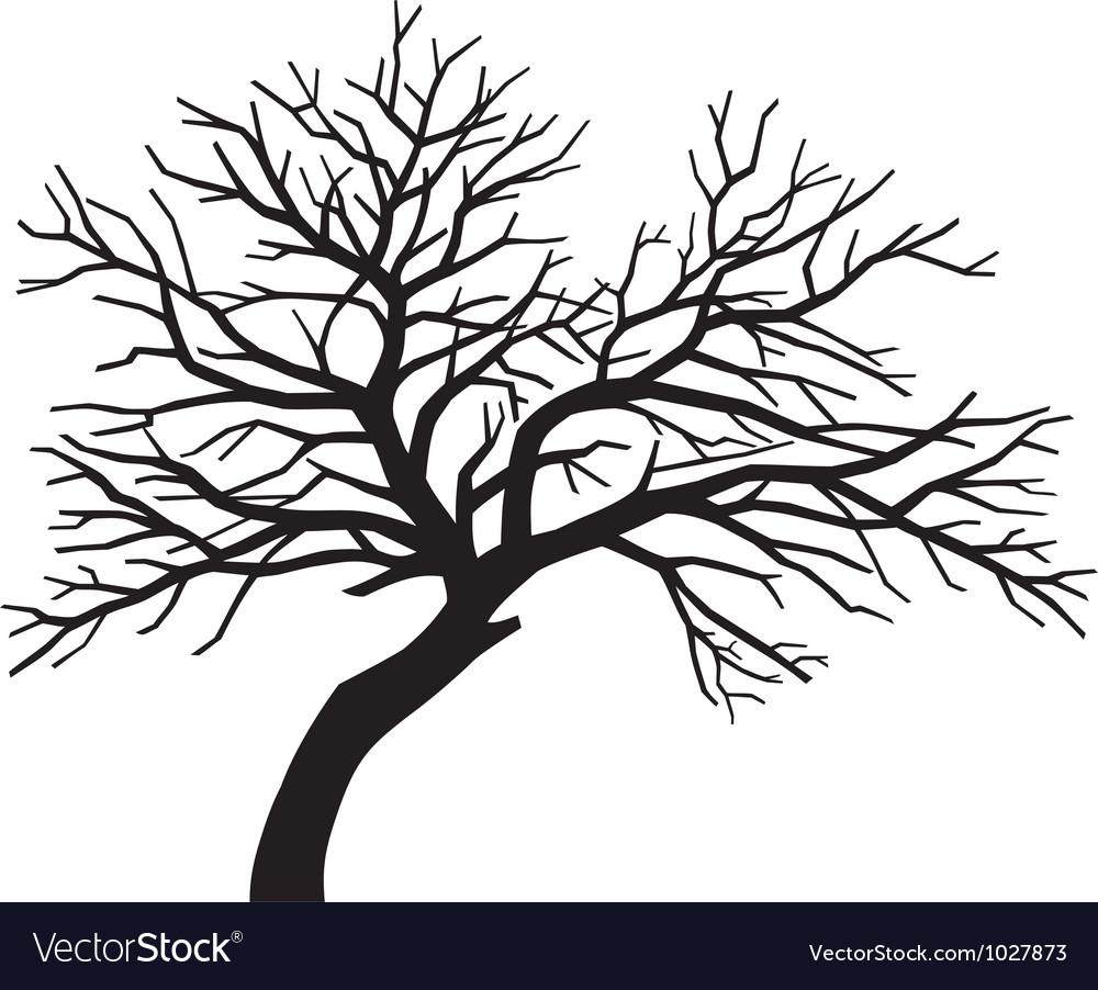 Oak Tree Silhouette Clipart Scary Tree Silhouette Clip Art