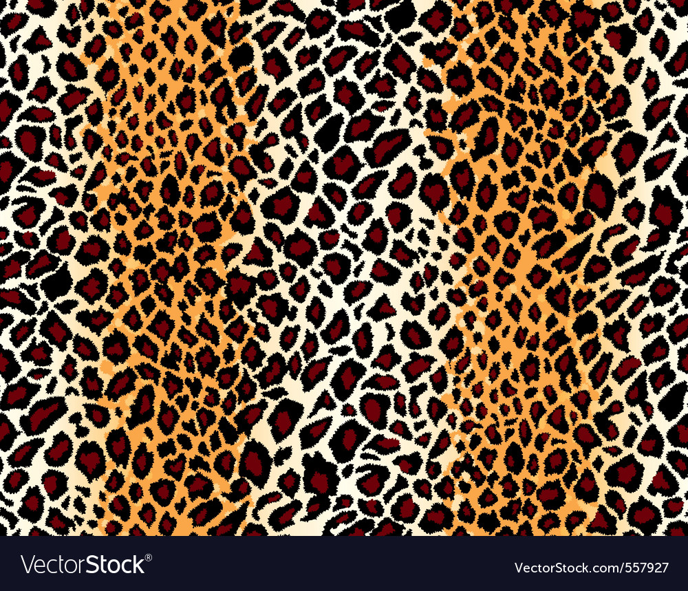 seamless jaguar skin pattern vector