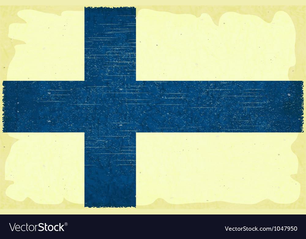 Free finnish flag vector