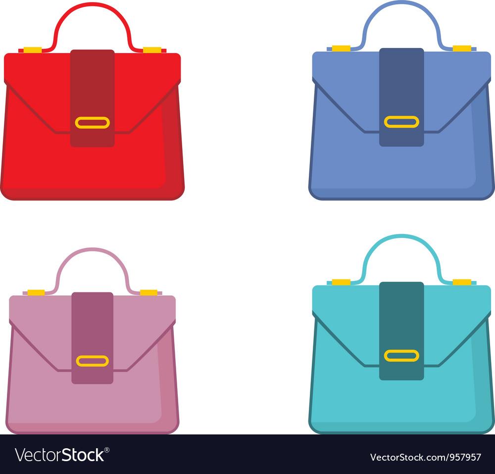 Female bags vector