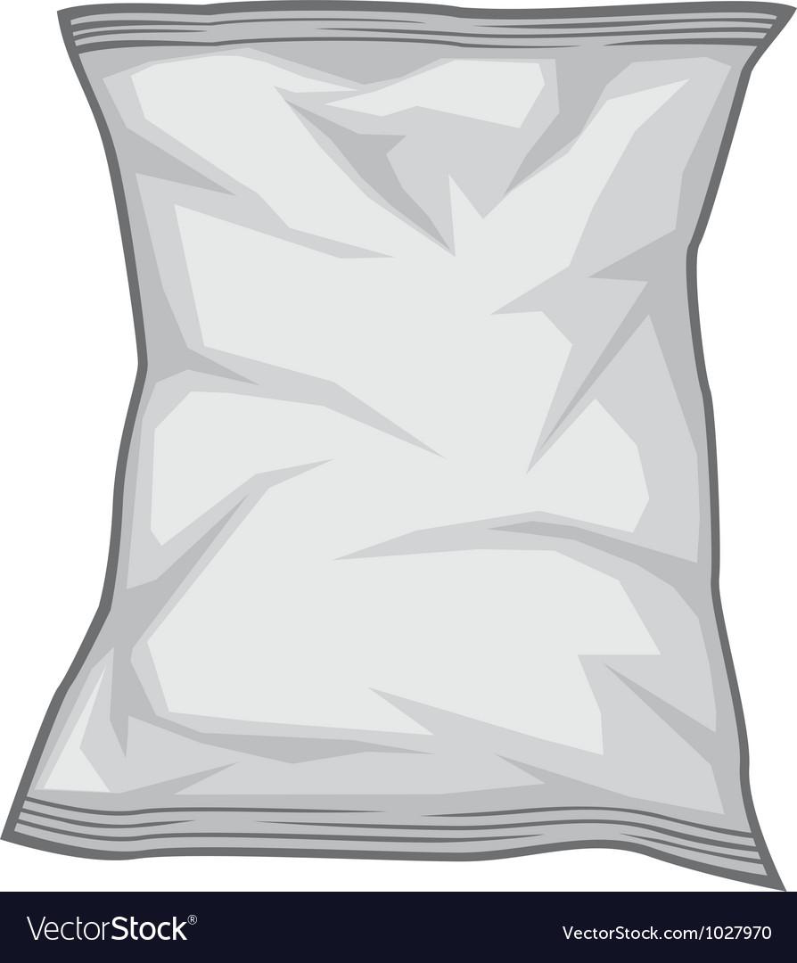 Foil package vector