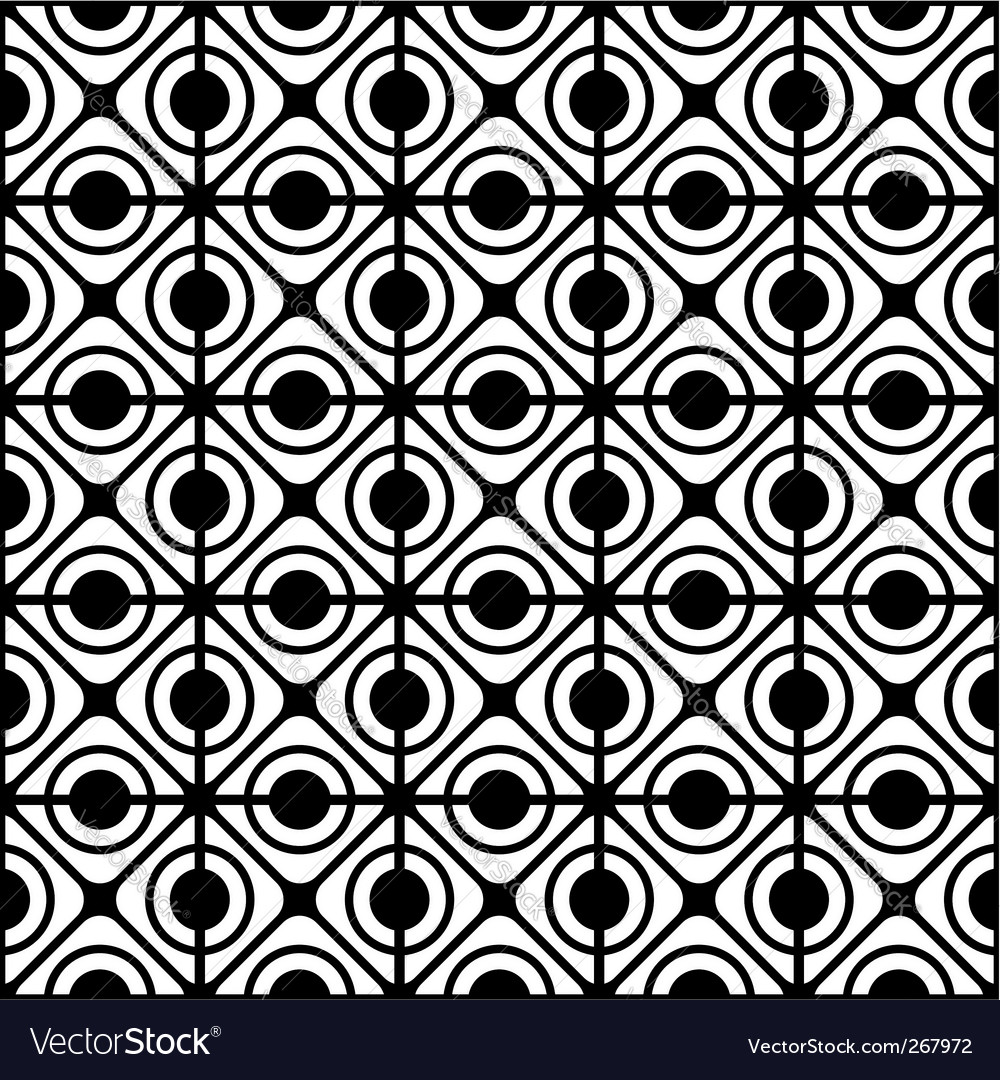 Geometric lattice pattern vector