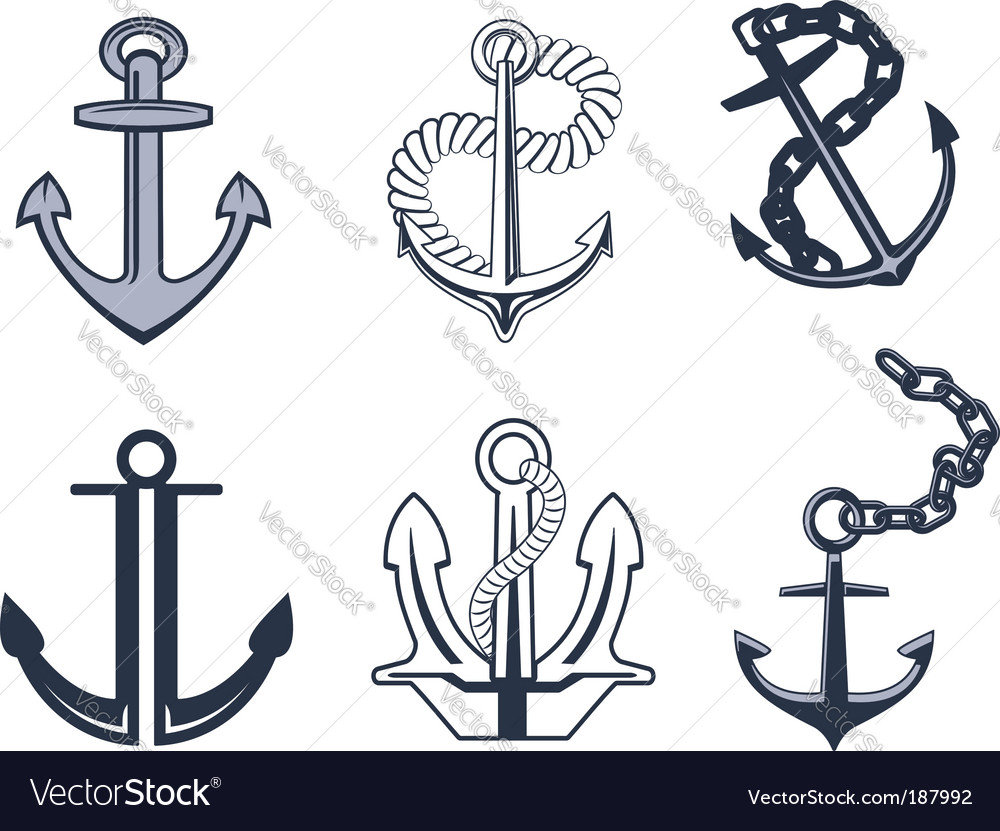 Anchor symbols vector