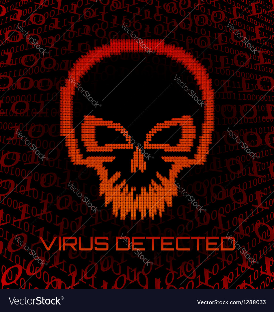 Digital skull virus vector