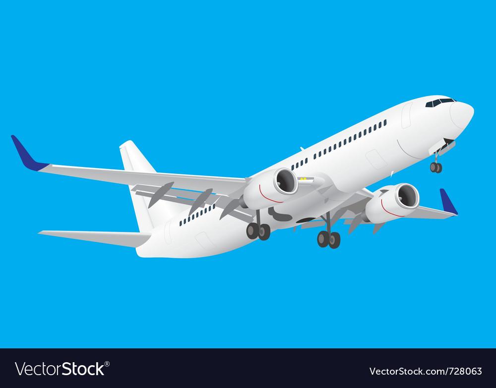 Boeing 737 vector