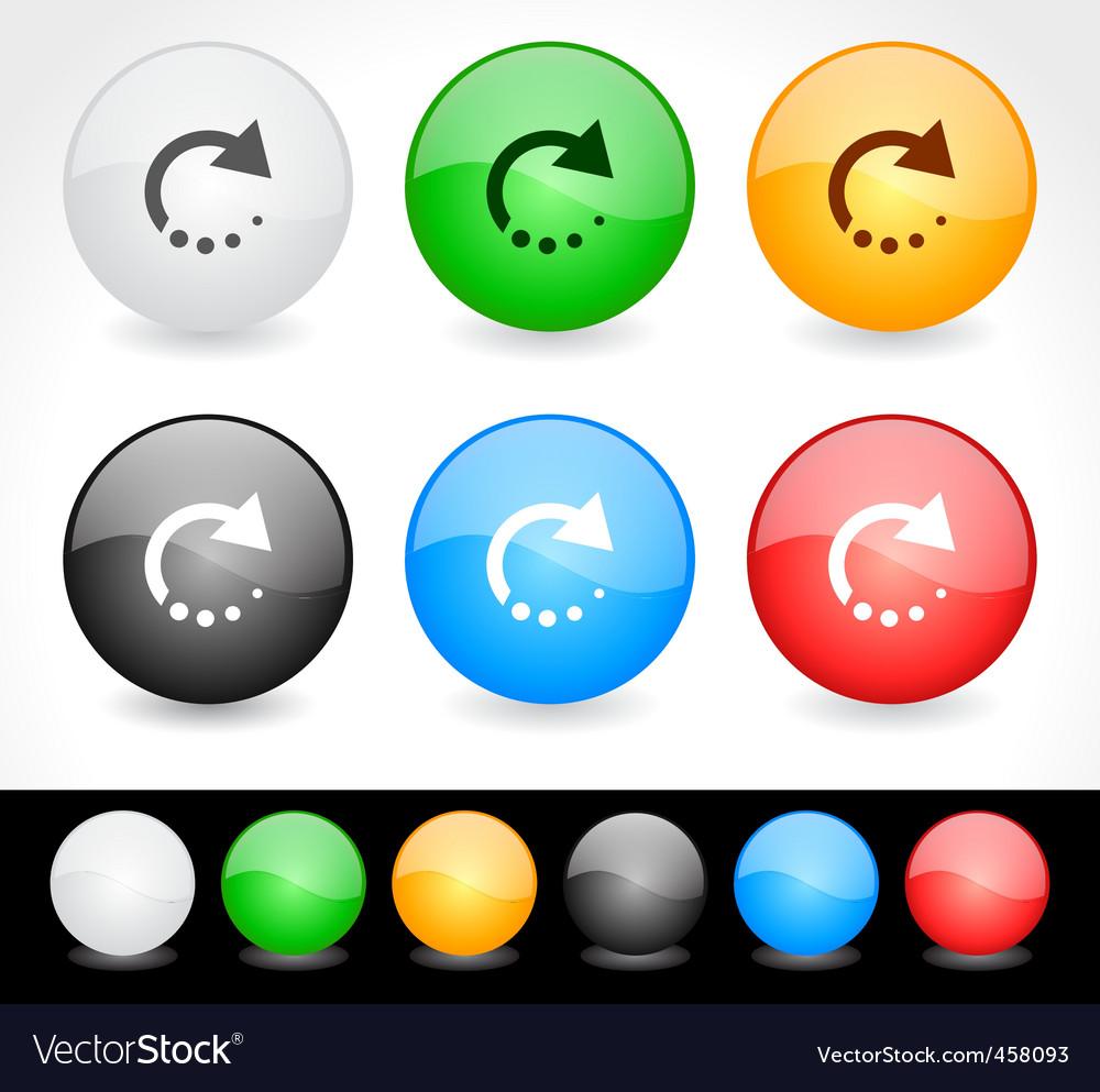 Website menu vector