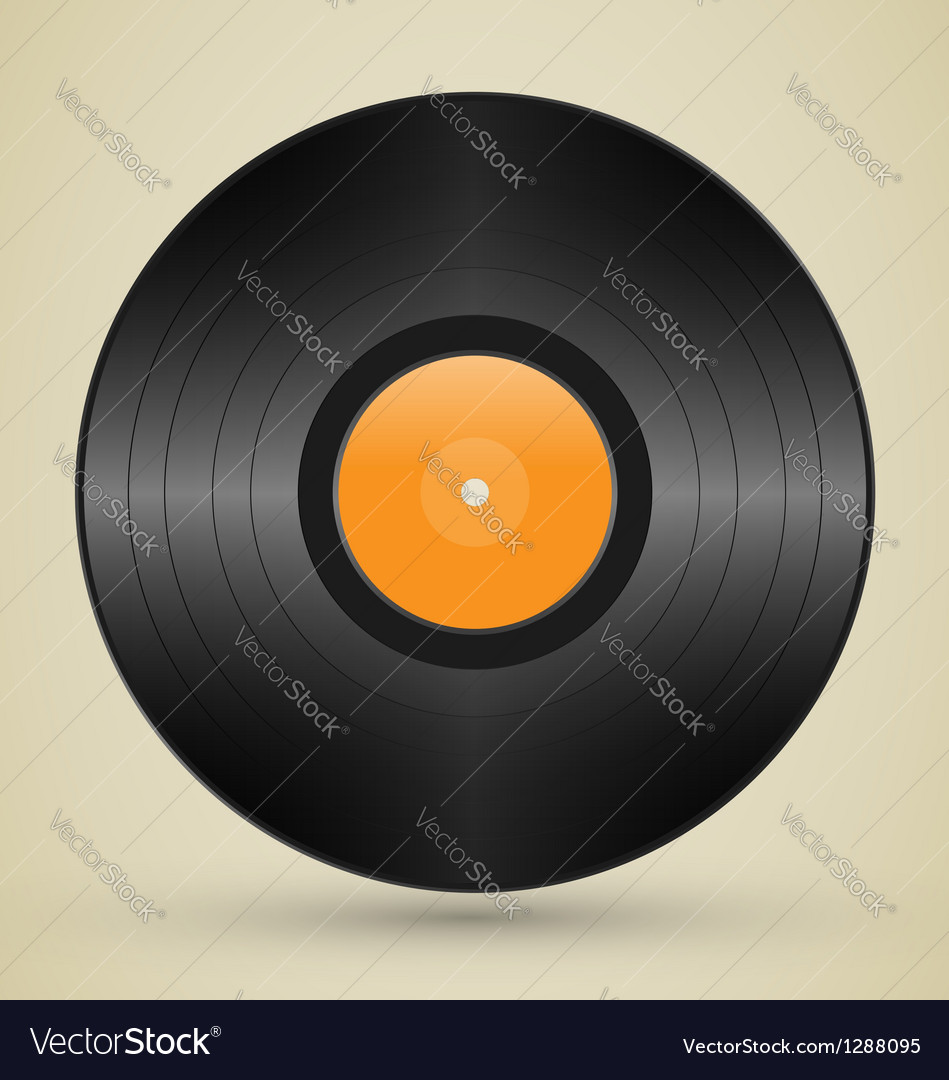 Retro vinyl vector