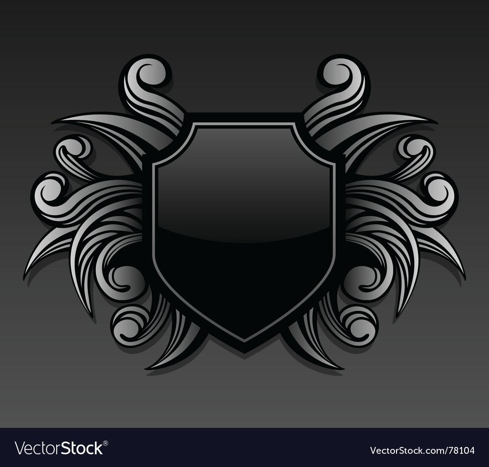 Gothic emblem vector