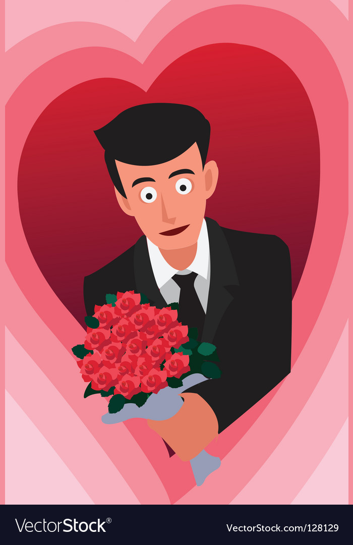 Groom vector