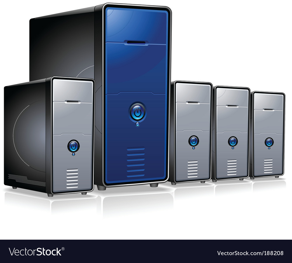 Servers vector