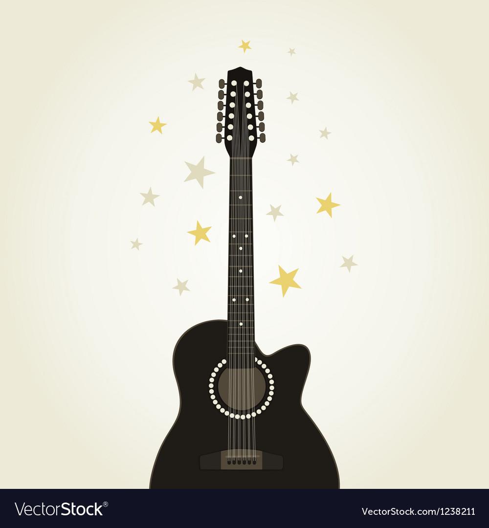 Guitar9 vector