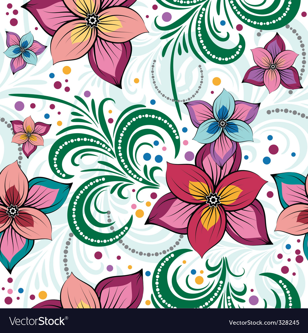 Simple flower wallpaper patterns - photo#15