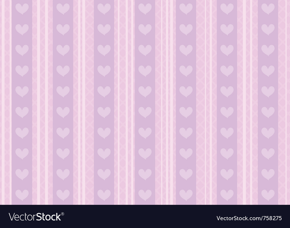 Heart background vector