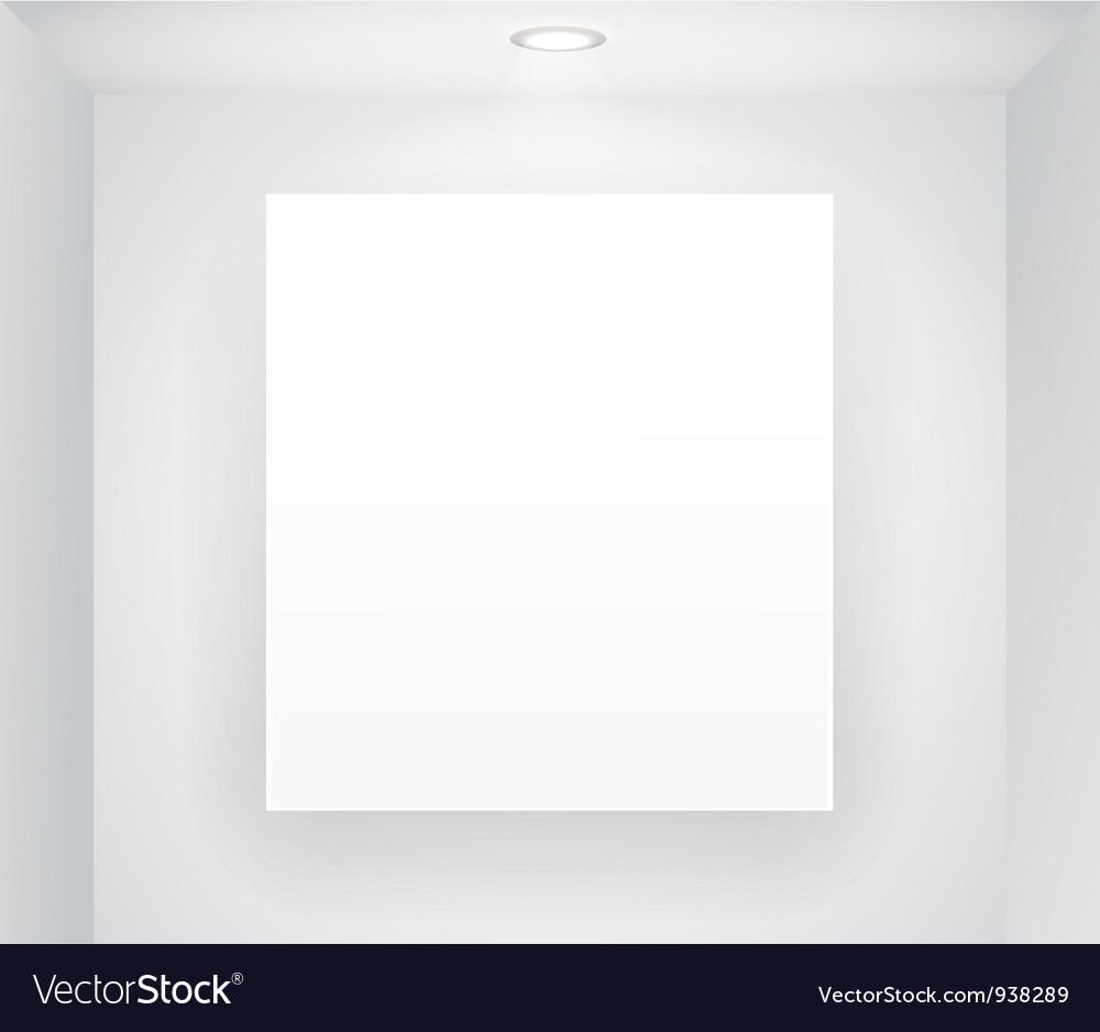 Blank display vector