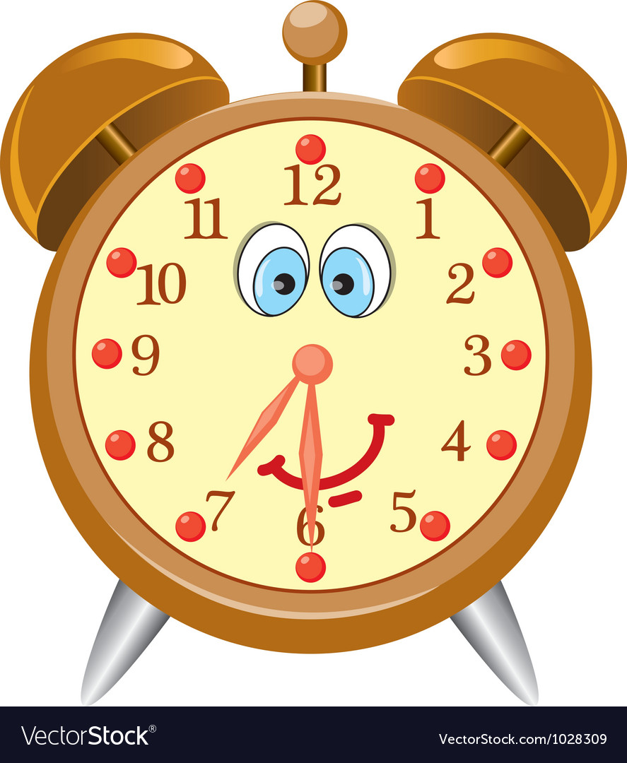 Clock alarm vector
