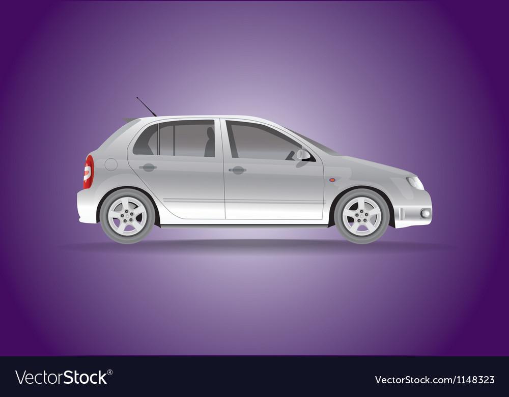 Car hatchback vector