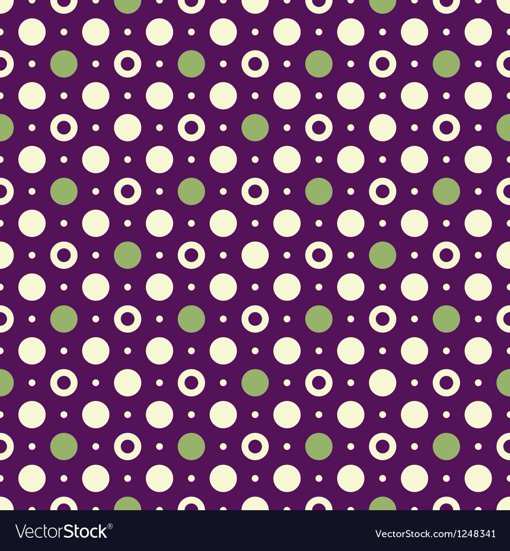 Violet vintage pattern vector