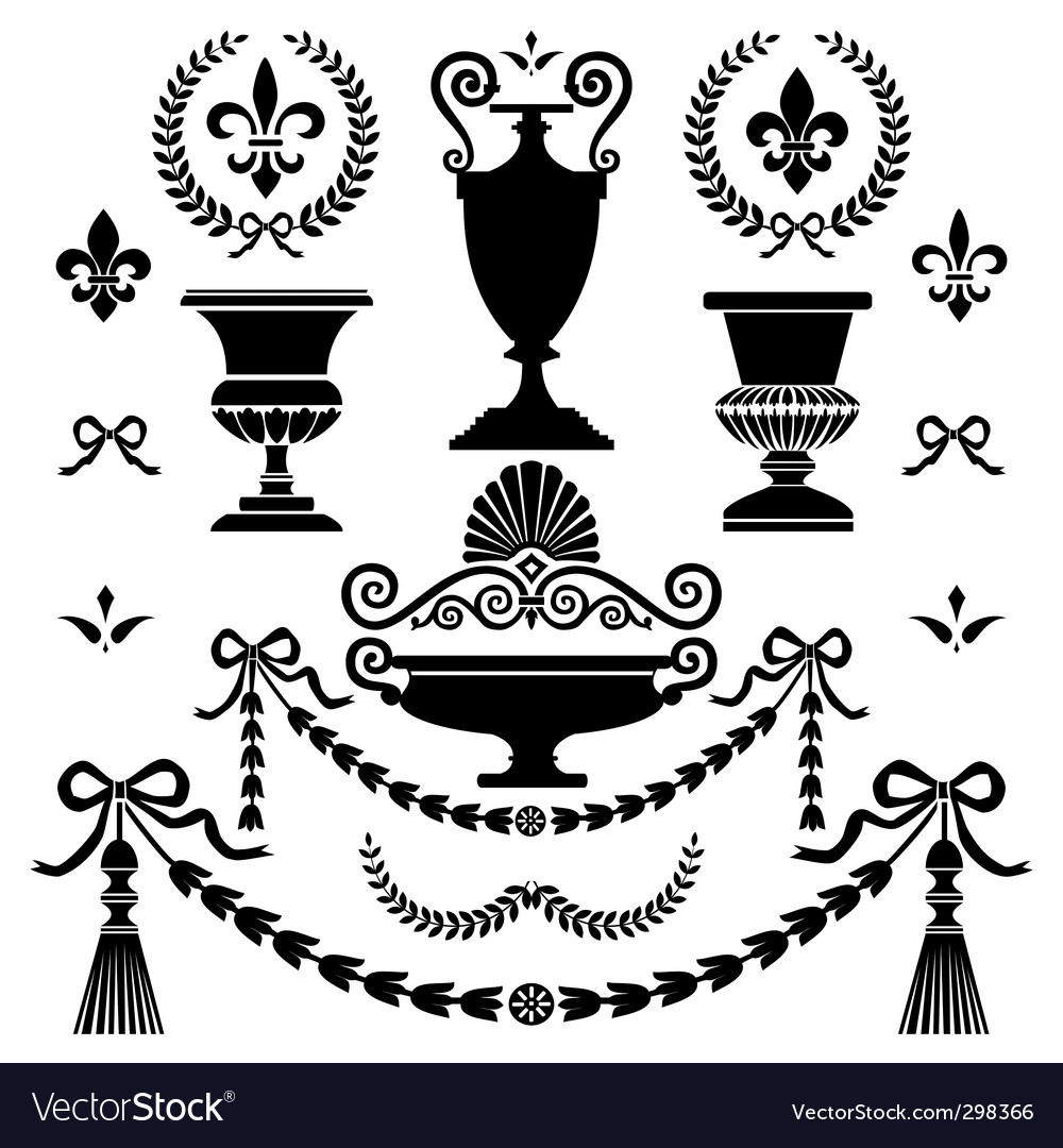 Style design elements vector