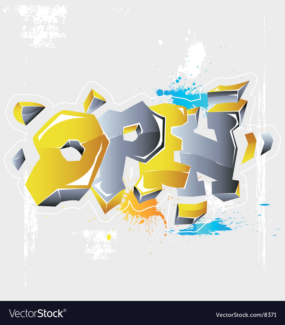 Inscription open vector