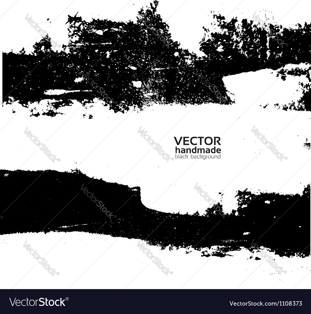 Handmade grunge textute vector